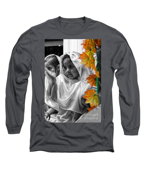 Long Sleeve T-Shirt featuring the photograph Cuenca Kids 885 by Al Bourassa