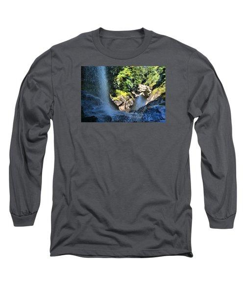 Cullasaja Falls Lookout Long Sleeve T-Shirt