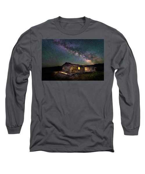 Cunningham Cabin After Dark Long Sleeve T-Shirt