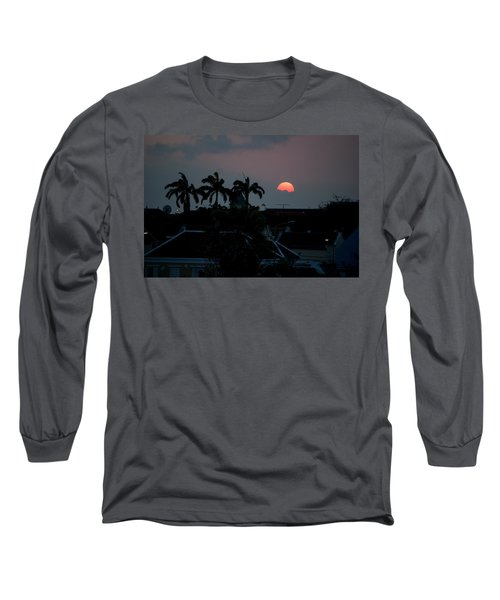 Curacao Sun Rise Long Sleeve T-Shirt