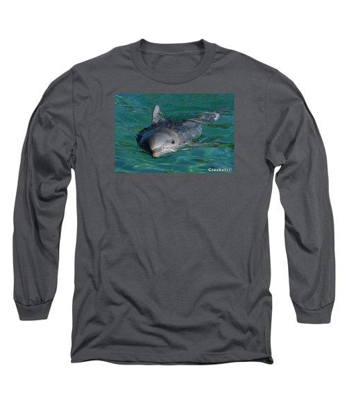 Curious Dolphin Long Sleeve T-Shirt