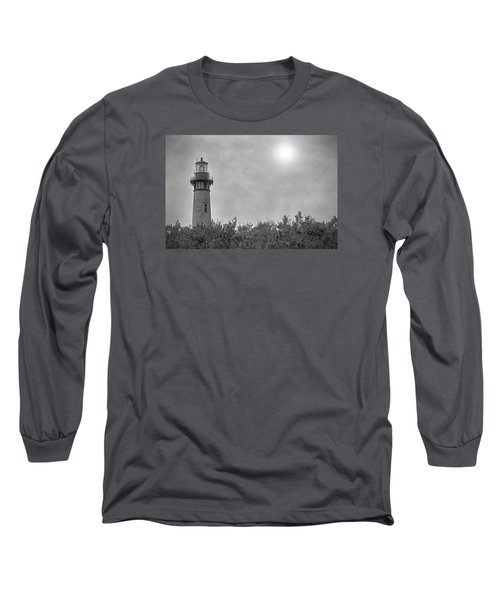 Long Sleeve T-Shirt featuring the photograph Currituck Lighthouse by Marion Johnson
