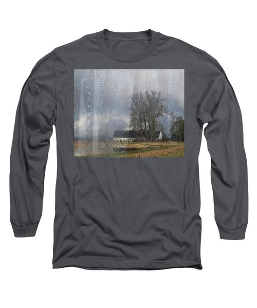 Curtains Of The Mind Long Sleeve T-Shirt by I'ina Van Lawick
