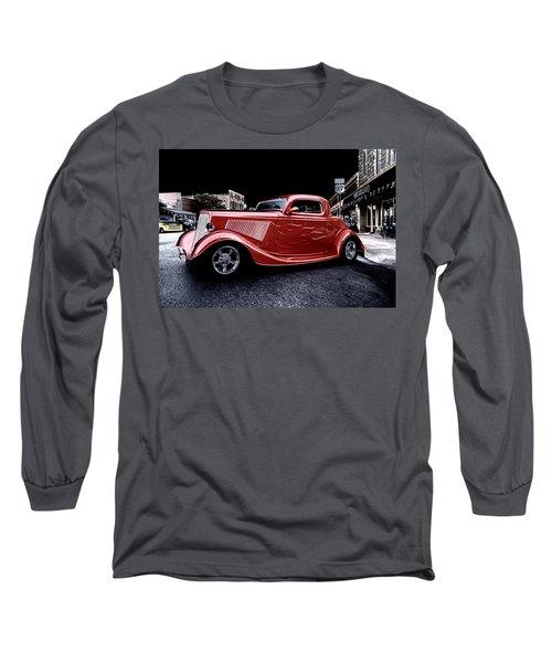 Custom Car On Street Long Sleeve T-Shirt