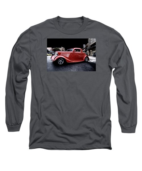 Custom Car On Street Long Sleeve T-Shirt