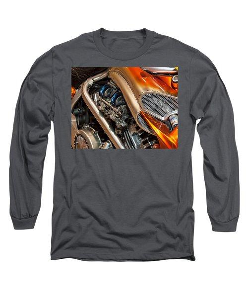 Custom Motorcycle Long Sleeve T-Shirt