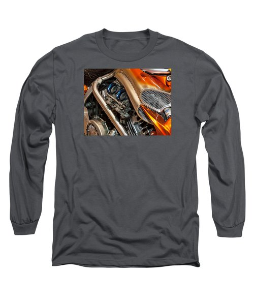 Custom Motorcycle Long Sleeve T-Shirt