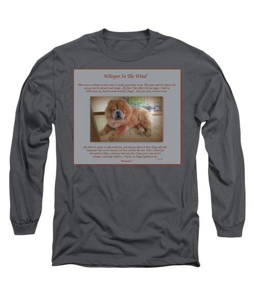 Custom Paw Print Benjamin Long Sleeve T-Shirt