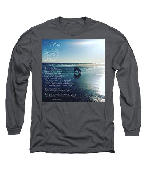 Custom Paw Print Franklin Angus Long Sleeve T-Shirt
