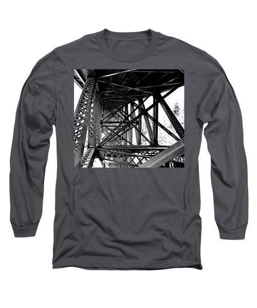 Cut River Bridge Long Sleeve T-Shirt