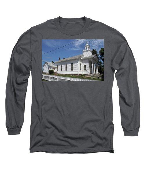 Cutchogue United Methodist Church Long Sleeve T-Shirt