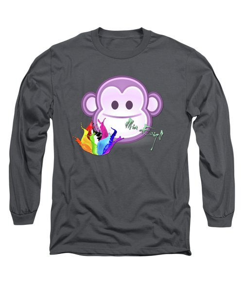 Cute Gorilla Baby Long Sleeve T-Shirt by iMia dEsigN