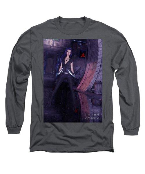 Cyberpunk Assassin Long Sleeve T-Shirt