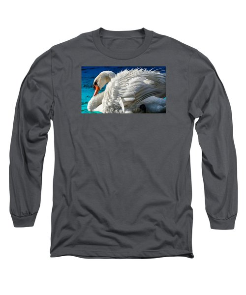 Cygnus Shine 3 Long Sleeve T-Shirt by Brian Stevens