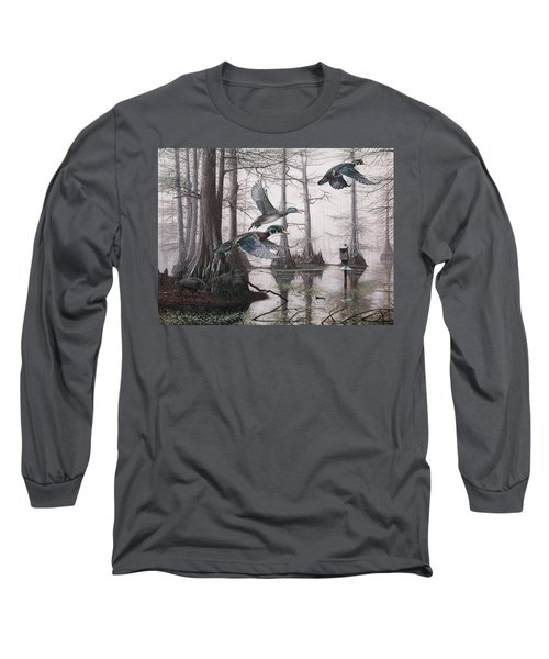 Cypress Bayou Neighbors Long Sleeve T-Shirt