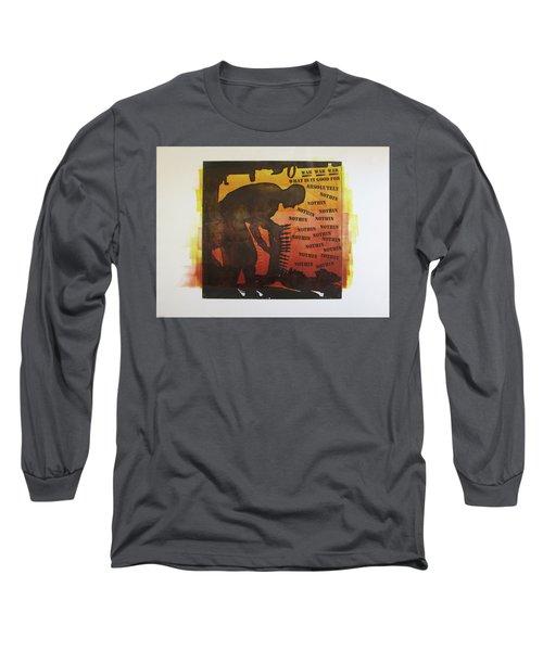 D U Rounds Project, Print 18 Long Sleeve T-Shirt