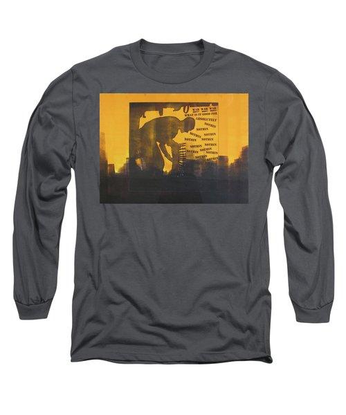D U Rounds Project, Print 27 Long Sleeve T-Shirt