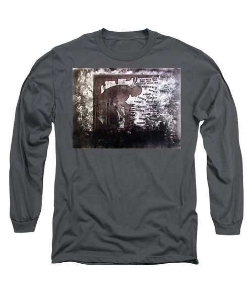 D U Rounds Project, Print 28 Long Sleeve T-Shirt