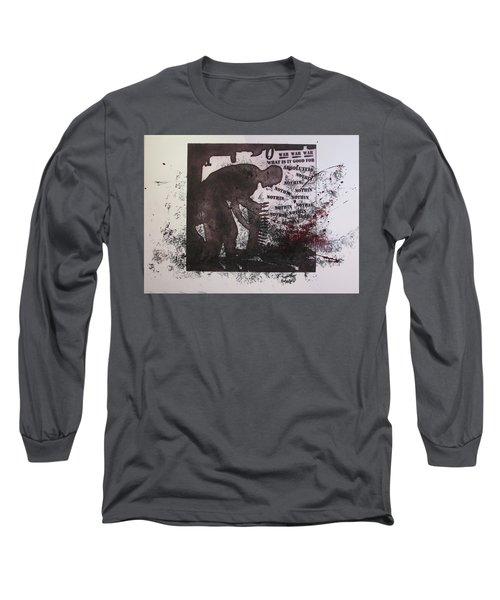 D U Rounds Project, Print 40 Long Sleeve T-Shirt