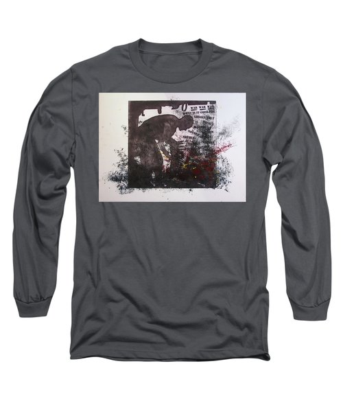 D U Rounds Project, Print 41 Long Sleeve T-Shirt