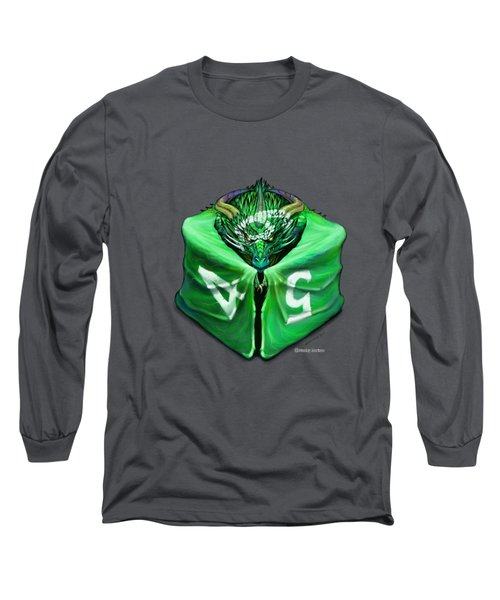 D6 Dragon Dice Long Sleeve T-Shirt