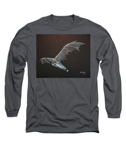 Da Vinci Flying Machine Long Sleeve T-Shirt