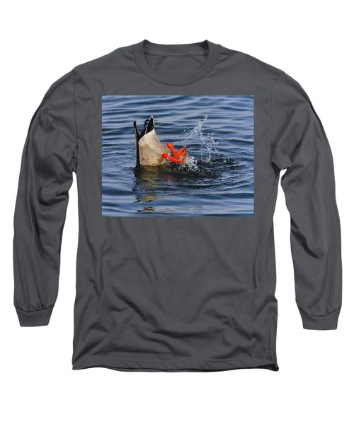 Dabbling - Mallard Long Sleeve T-Shirt