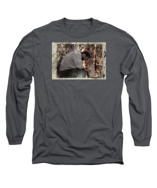 Daddys Hands Long Sleeve T-Shirt