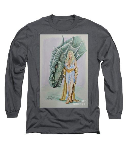 Daenerys Targaryen - Game Of Thrones Long Sleeve T-Shirt