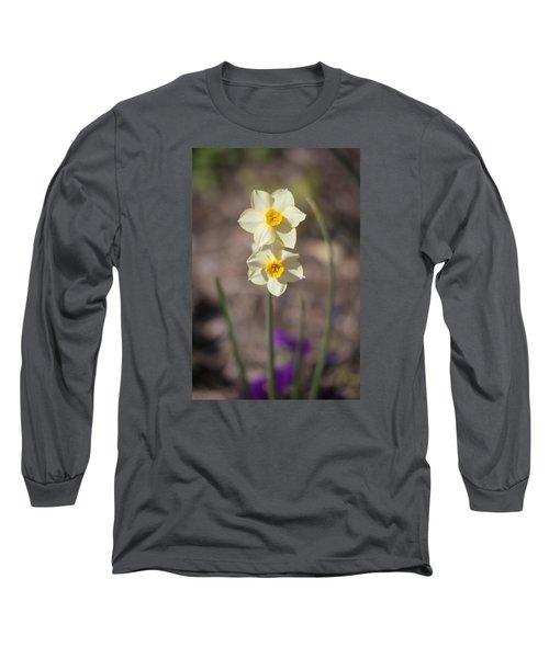 Daffy Duet Long Sleeve T-Shirt by Morris  McClung