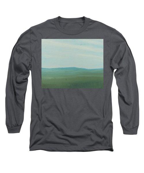 Dagrar Over Salenfjallen- Shifting Daylight Over Distant Horizon 4 Of 10_0029 51x40 Cm Long Sleeve T-Shirt