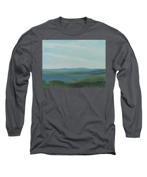 Dagrar Over Salenfjallen- Shifting Daylight Over Distant Horizon 6a Of 10_0027 50x40 Cm Long Sleeve T-Shirt