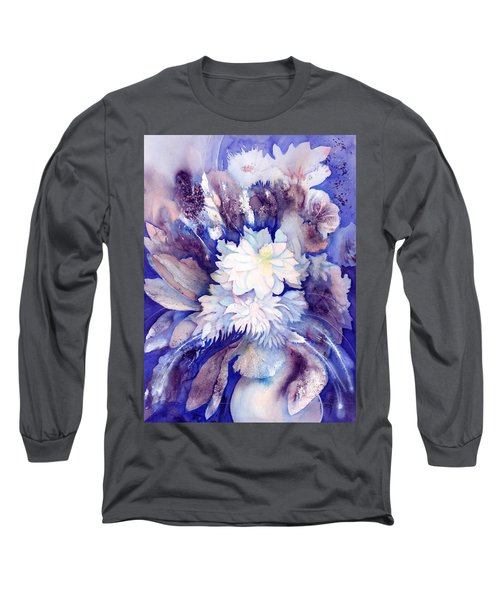 Dahlias Flower Bouquet Long Sleeve T-Shirt