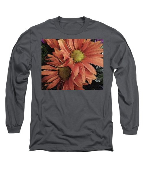 Long Sleeve T-Shirt featuring the photograph Daisy Bouquet by Donna G Smith