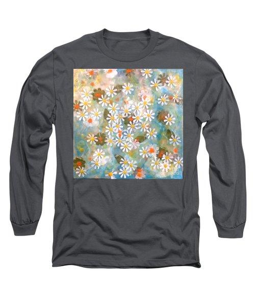 The Poet's Garden Long Sleeve T-Shirt