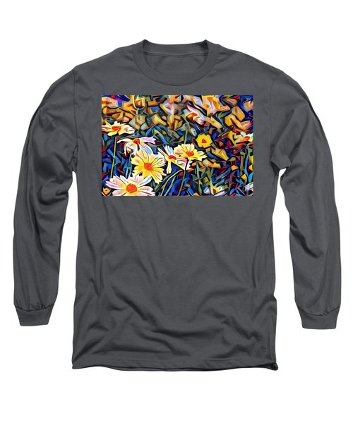 Long Sleeve T-Shirt featuring the photograph Daisy Dream by Geri Glavis