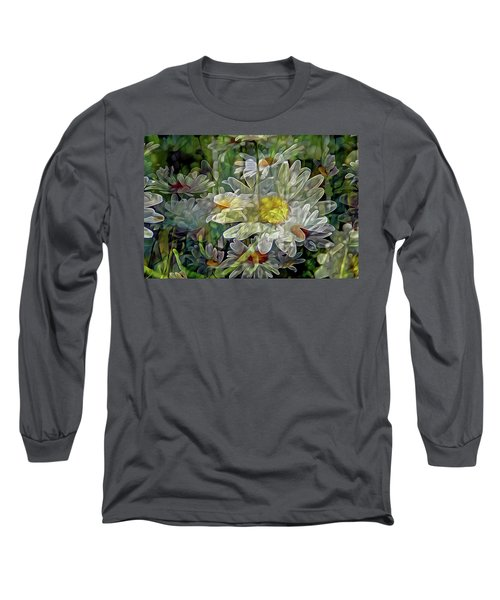 Daisy Mystique 8 Long Sleeve T-Shirt by Lynda Lehmann