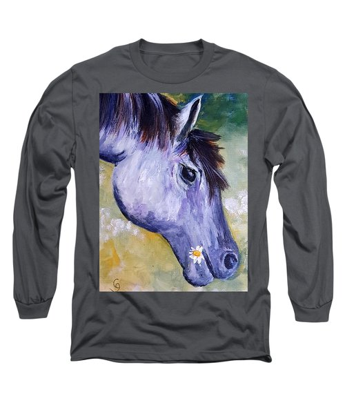 Daisy The Old Mare     52 Long Sleeve T-Shirt