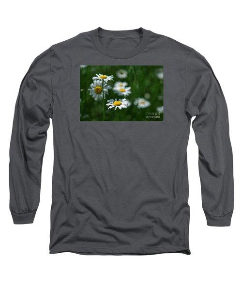 Long Sleeve T-Shirt featuring the photograph Daisy's by Alana Ranney