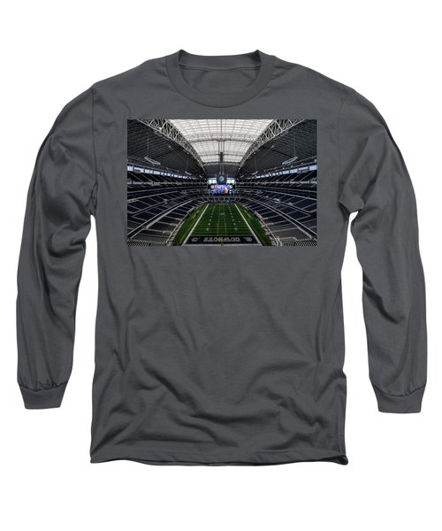 Dallas Cowboys Stadium End Zone Long Sleeve T-Shirt