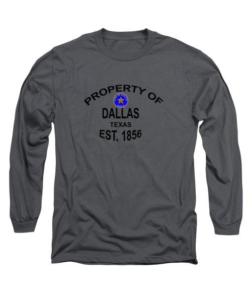 Dallas Texas Long Sleeve T-Shirt by T Shirts R Us -