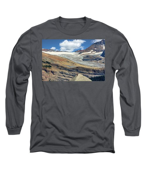 Daly Glacier And Yoho National Park Adventure Long Sleeve T-Shirt