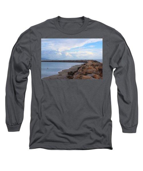 Dana Point  Long Sleeve T-Shirt by Viktor Savchenko