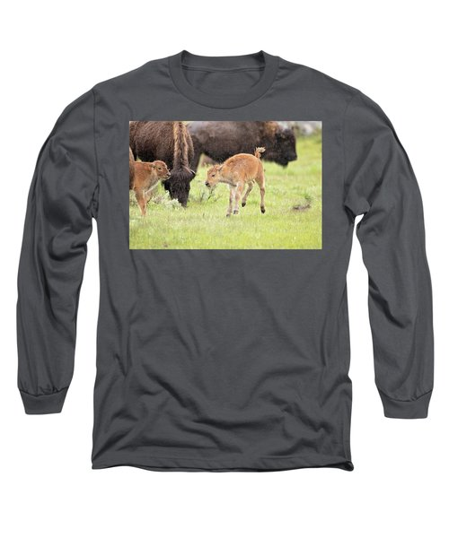 Dance In The Rain Long Sleeve T-Shirt