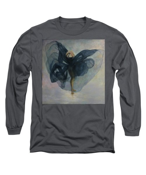 Dance With A Black Shawl Long Sleeve T-Shirt