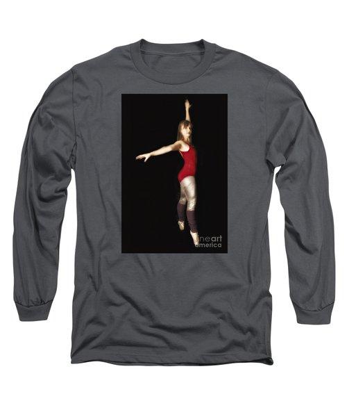 Long Sleeve T-Shirt featuring the photograph Dancer  No. 4 ... by Chuck Caramella