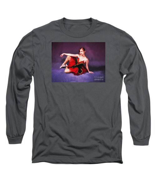 Long Sleeve T-Shirt featuring the photograph Dancer No. 6  ... by Chuck Caramella