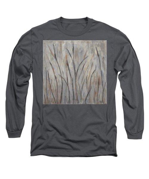 Dancing Cattails 2 Long Sleeve T-Shirt by Trish Toro