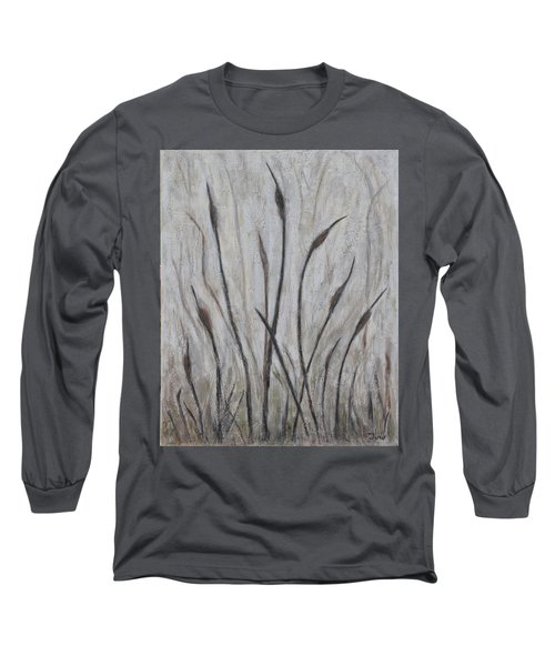 Dancing Cattails 3 Long Sleeve T-Shirt by Trish Toro
