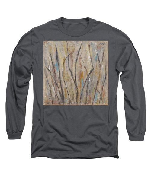 Dancing Cattails I Long Sleeve T-Shirt